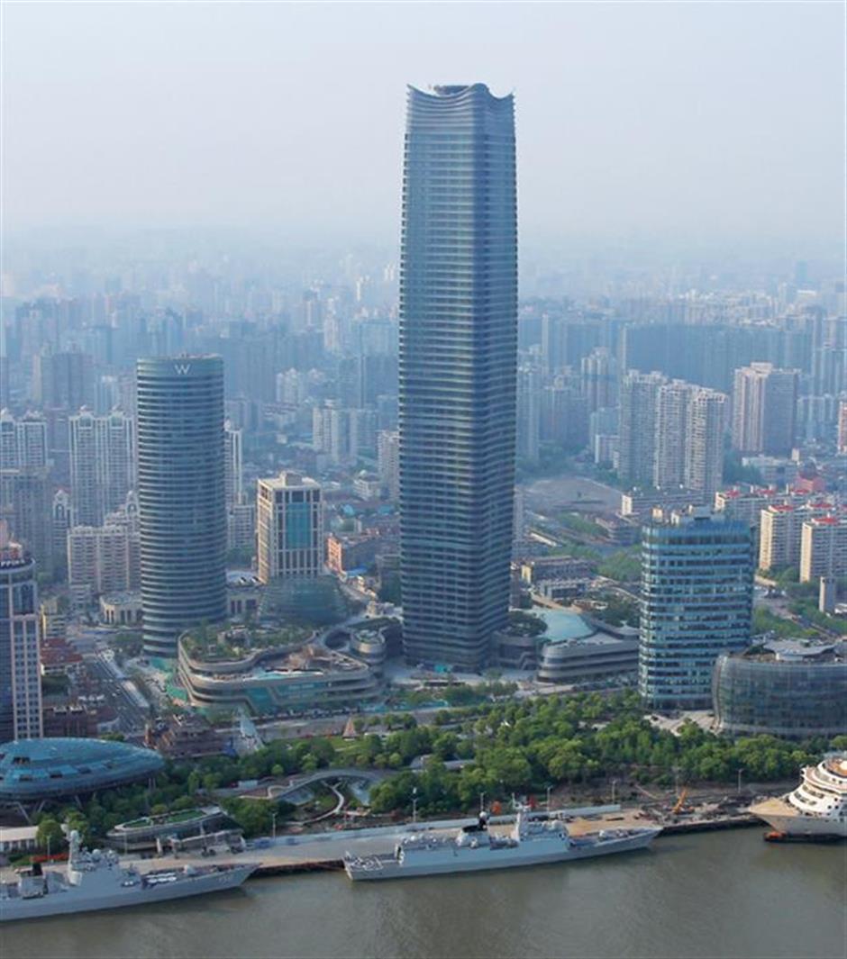 North Bund leads Hongkous growth with landmark skyscraper