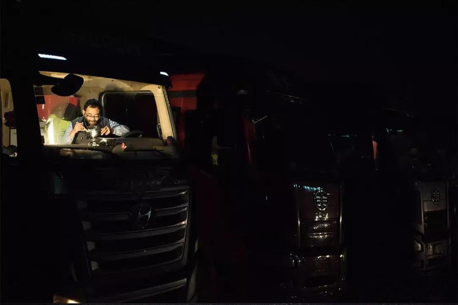 Charity initiative for hero truck drivers