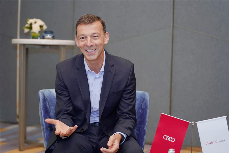 German automaker Audi in fast lane for sales and growth in China
