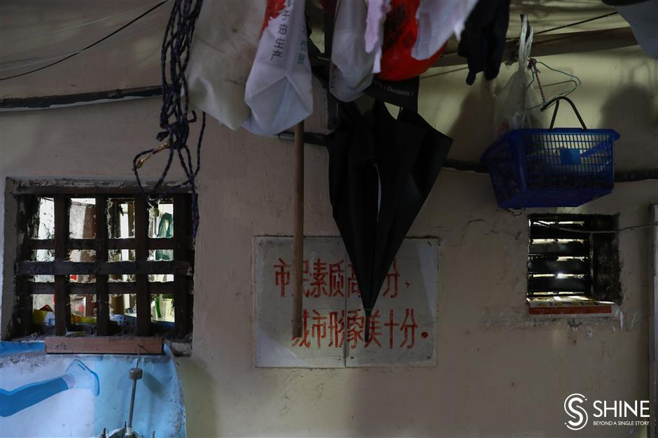 Searching for memories in Shanghais alleys