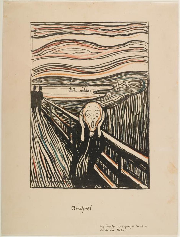 Rare exhibit of Munchs art a real scream
