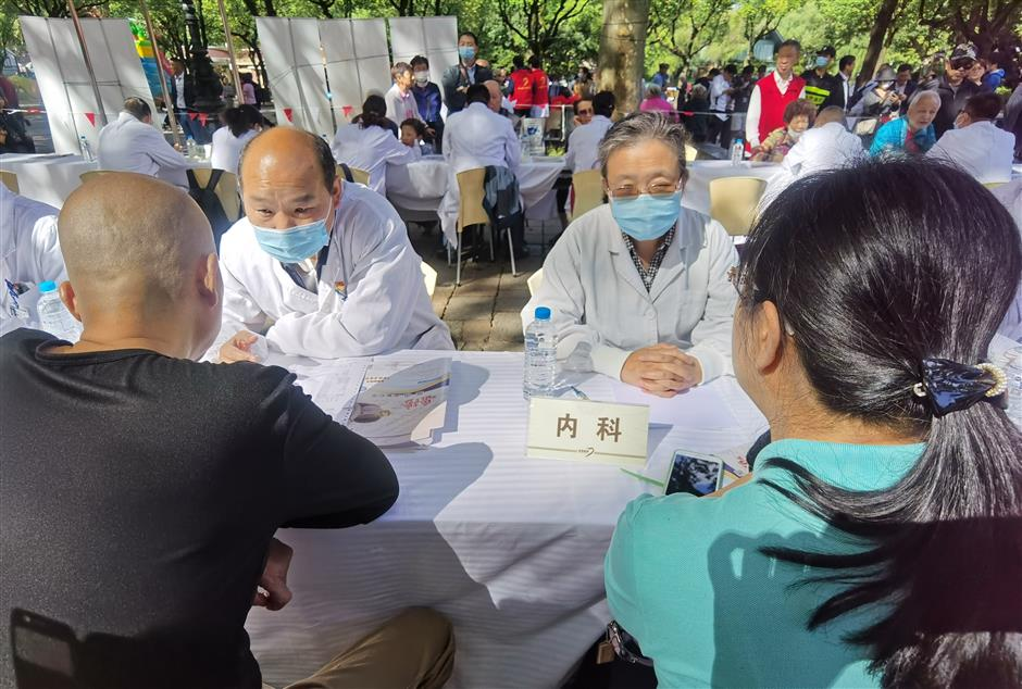 Traditional Chinese medical advice is just the tonic