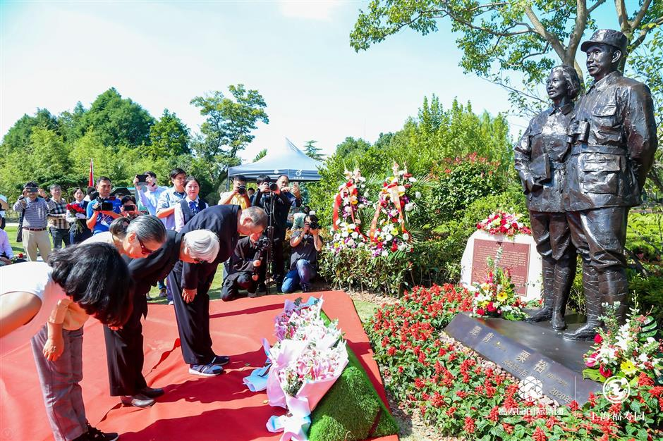 Late military leader honored with tribute ceremony