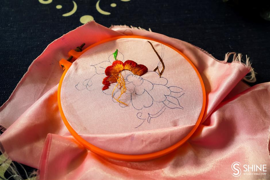 Embroidery is weaving a new way of life for the women of Dongxiang