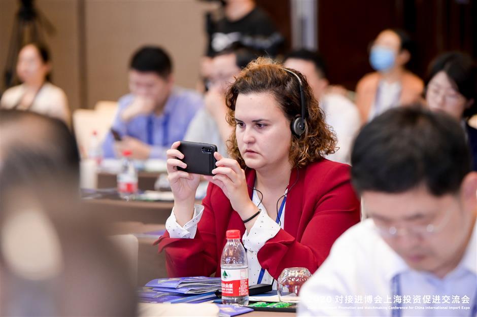 Shanghai map to help CIIE exhibitors invest