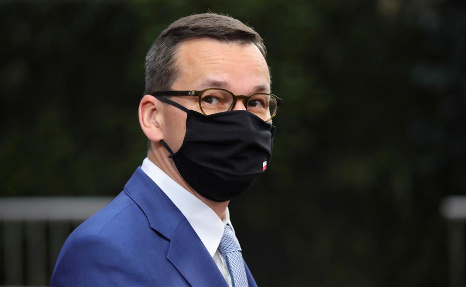 Polish PM in quarantine after contact with COVID-19