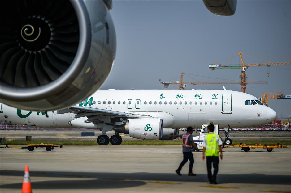Domestic demand boost for Spring Airlines