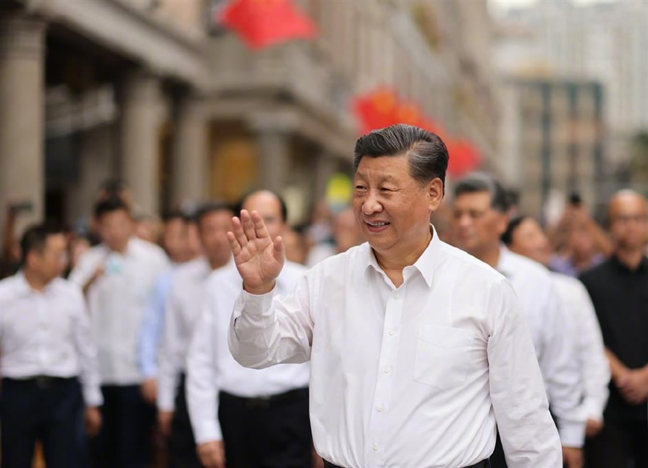 Xi stresses unswervingly following path of reform and opening up