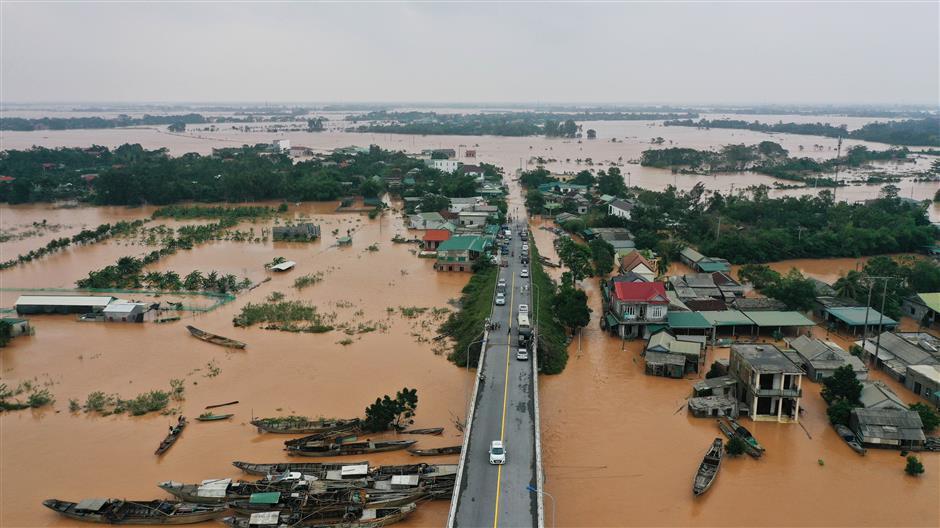 Dozens killed as storm hits Vietnam, Cambodia