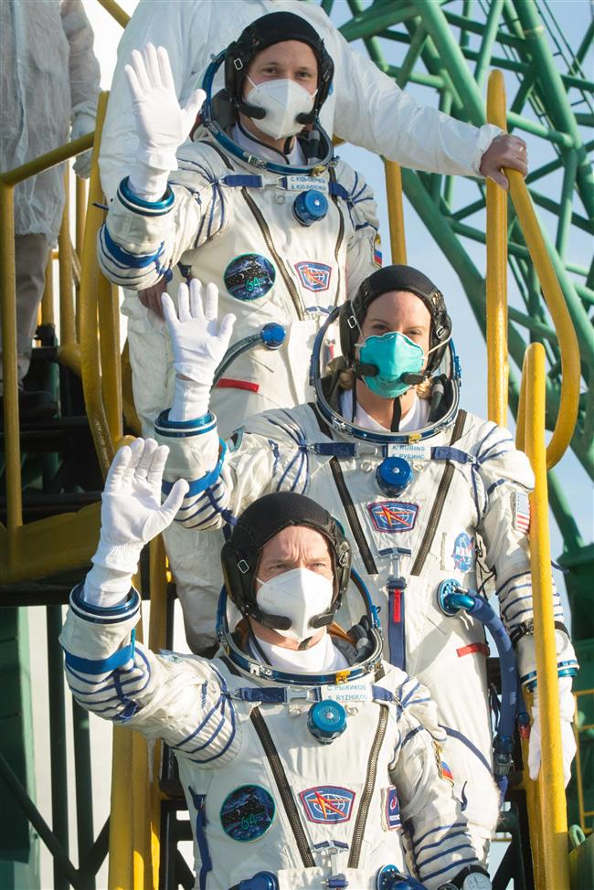 Russian spacecraft sends crew to the ISS on a record speed