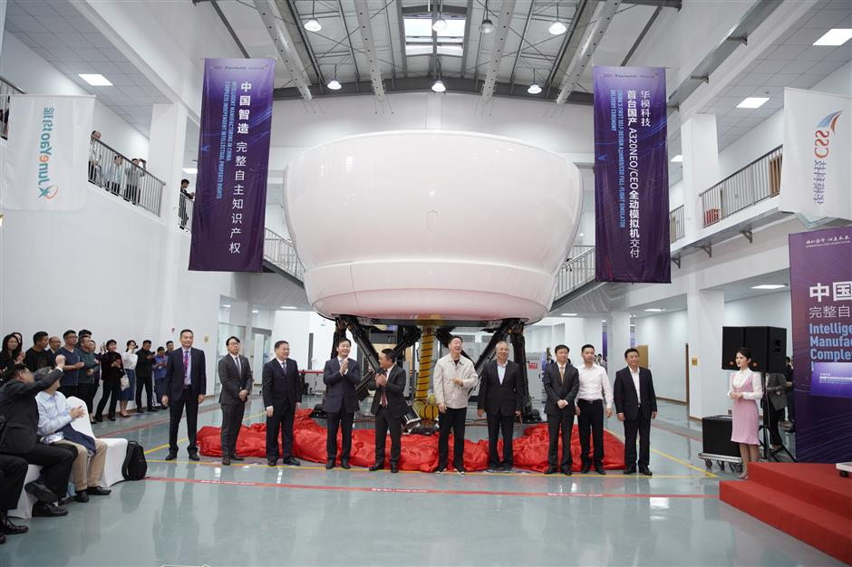 First Chinese-made flight simulator handed over to Juneyao Airlines