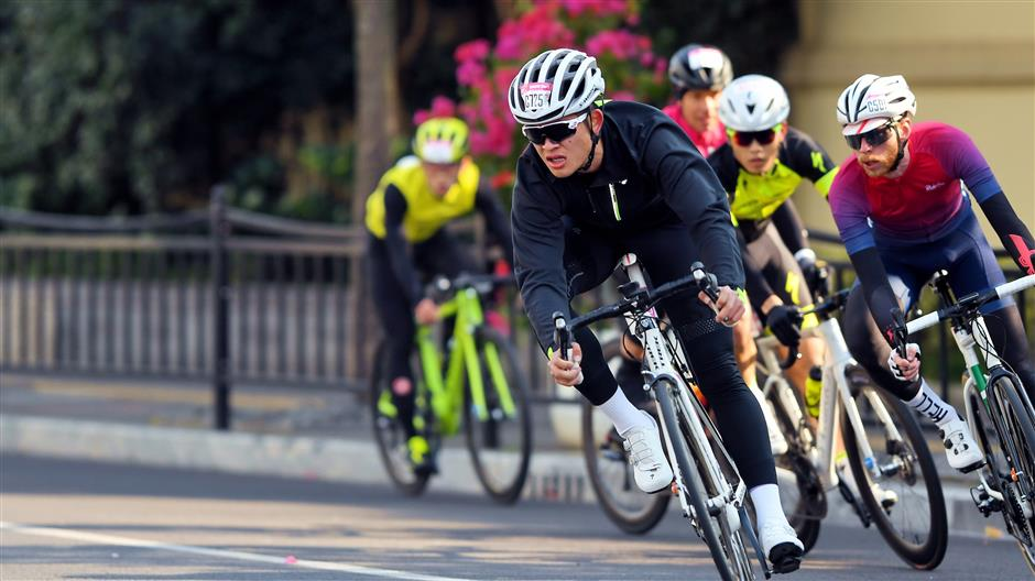 Cycling race tours Yangtze Delta landmarks
