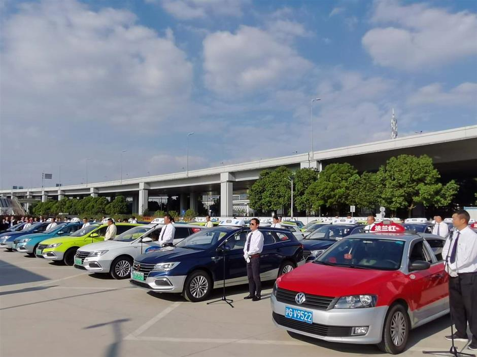 Shanghais cab drivers geared up for expo