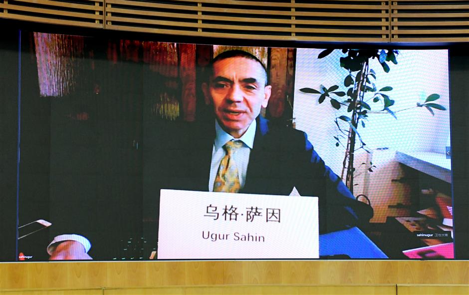 Party Secretary Li Holds Video Conference With Biontech Ceo Shine News