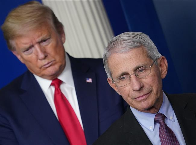 Trump didn't react kindly to Fauci's 60 Minutes comment