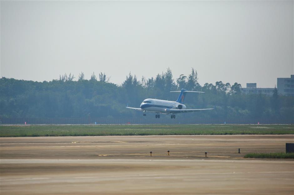 China Southern takes 2nd ARJ21 via leasing
