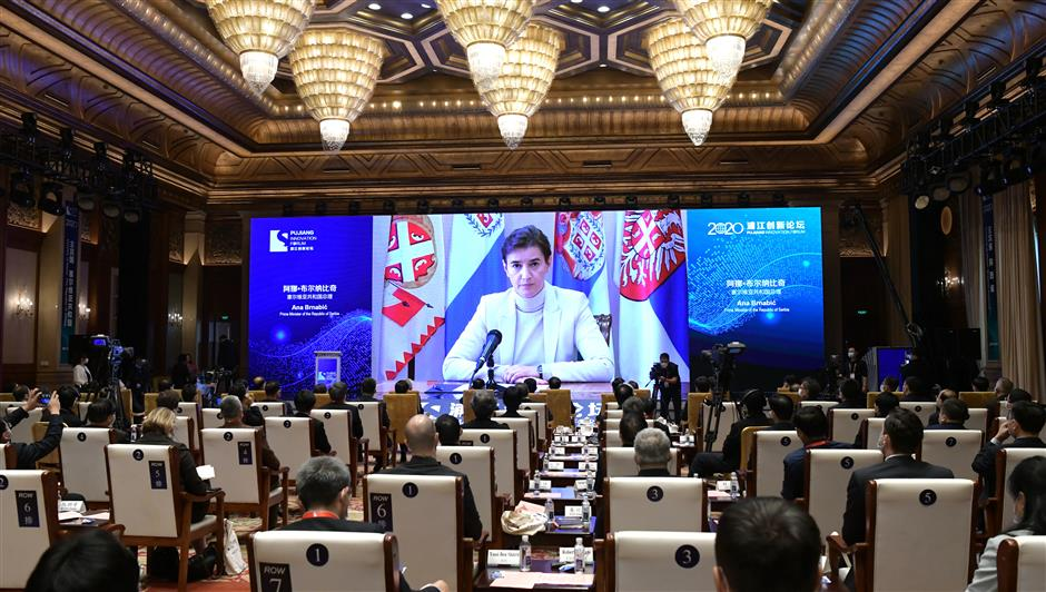 Focus on cooperation at 2020 Pujiang forum