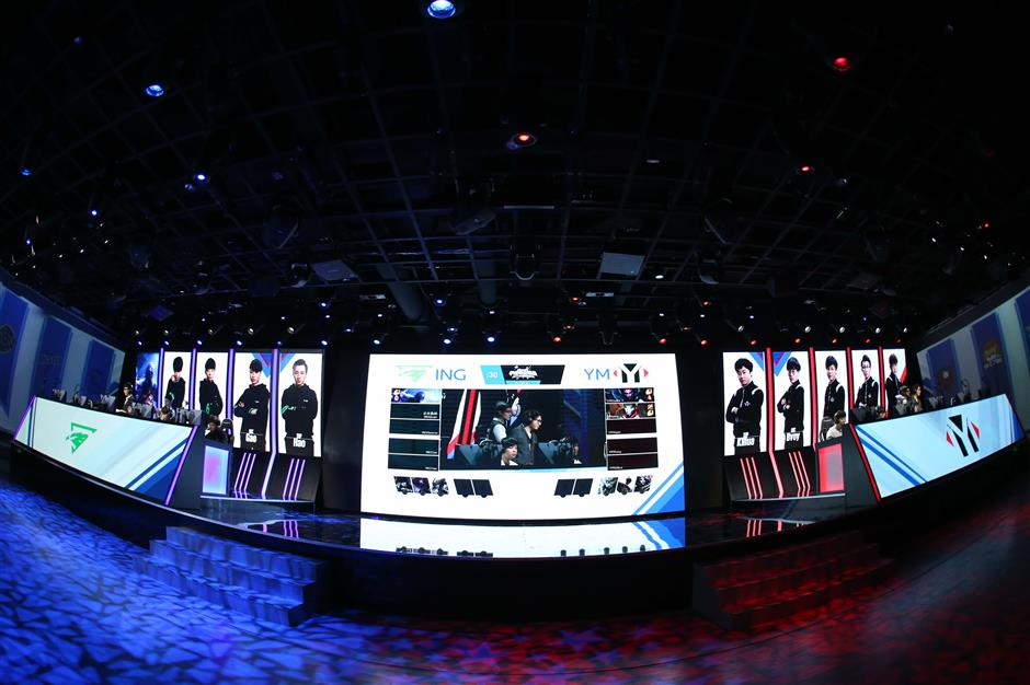 As a big event approaches, eSports flexes its muscles