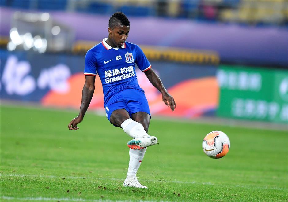 Shenhua beats Chongqing in CSL playoffs first leg