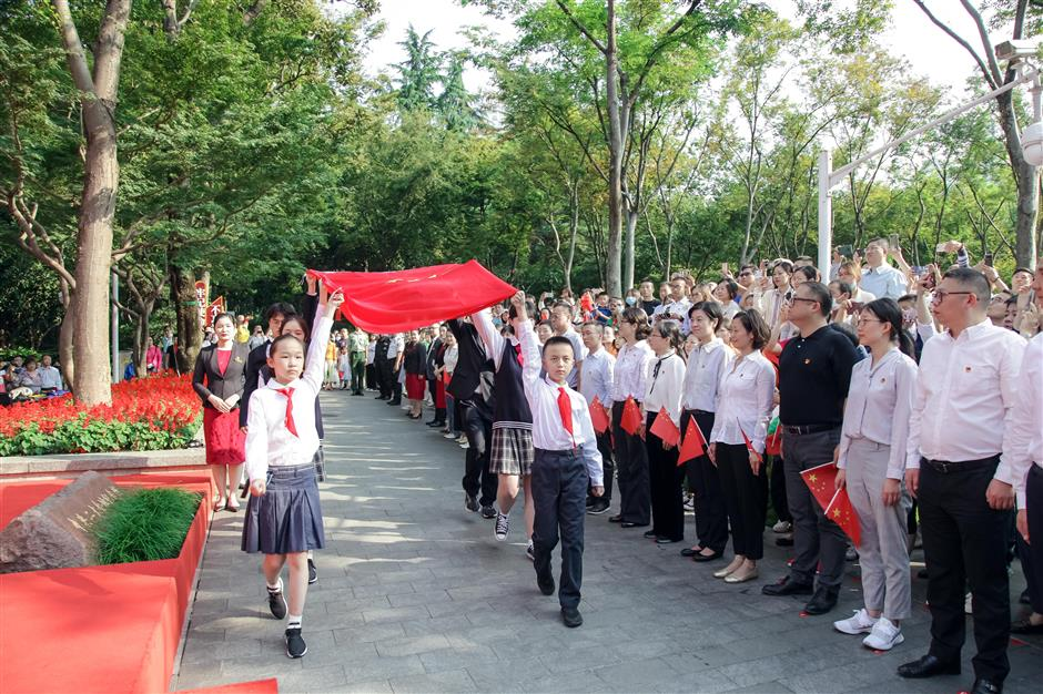 October keywords: National Day celebrations