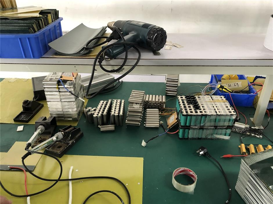 Suspects held over illegal e-bike batteries