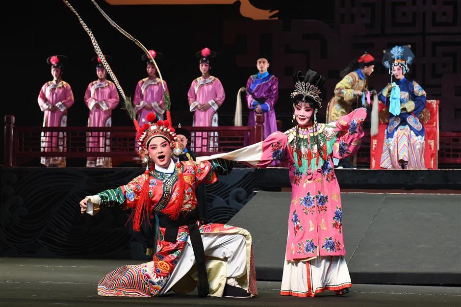 Original play chronicles development of Huiju Opera