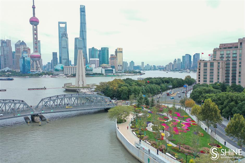 Shanghai plans to double itsgreenway area