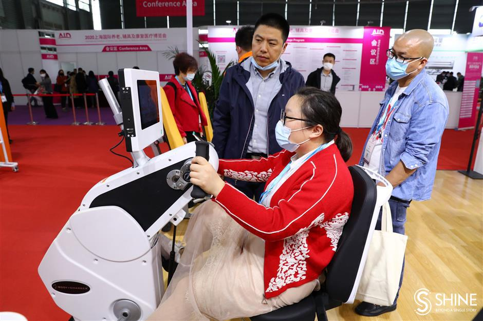 Devices to help the elderly go on display