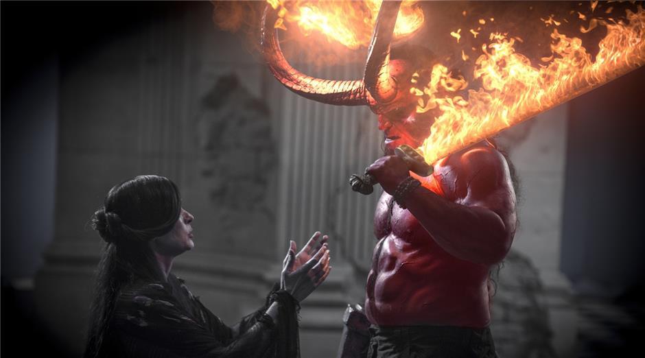 Hellboy franchise returns to cinema screen
