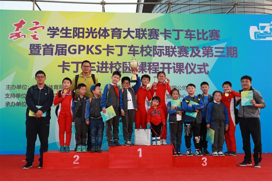 Inaugural karting campus league held in Shanghai