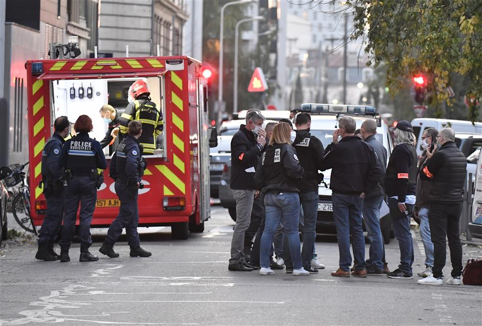 Priest shot in France as country faces wave of religious violence