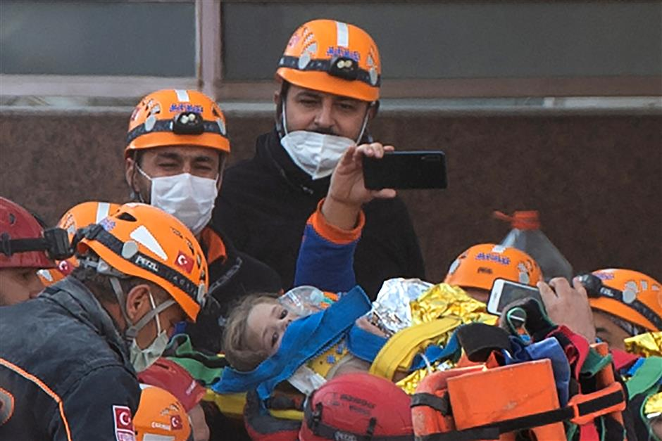 4-year-old girl rescued 91 hours after earthquake, death toll in Turkey rises to 102