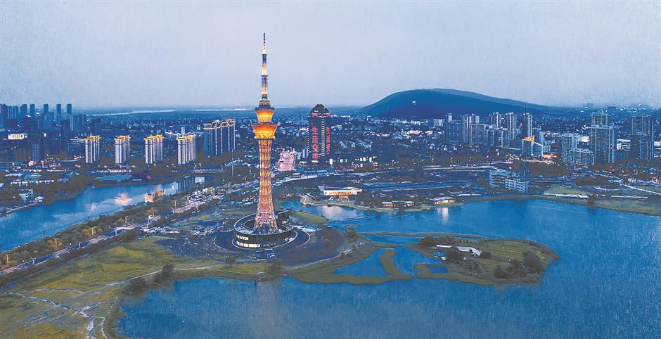 Suzhou districts sharpen their competitiveness