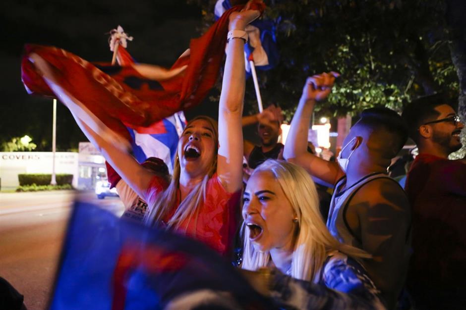 Trump wins key battleground Florida: US networks