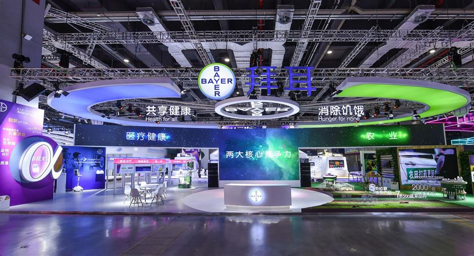 Bayer in the spotlight at CIIE with Health for All, Hunger for None
