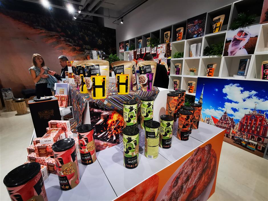 Latvias specialty products go on display