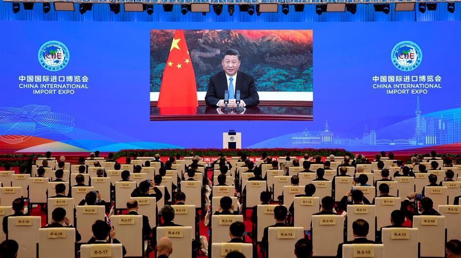 Xi steers trail-blazing CIIE into platform bolstering global trade