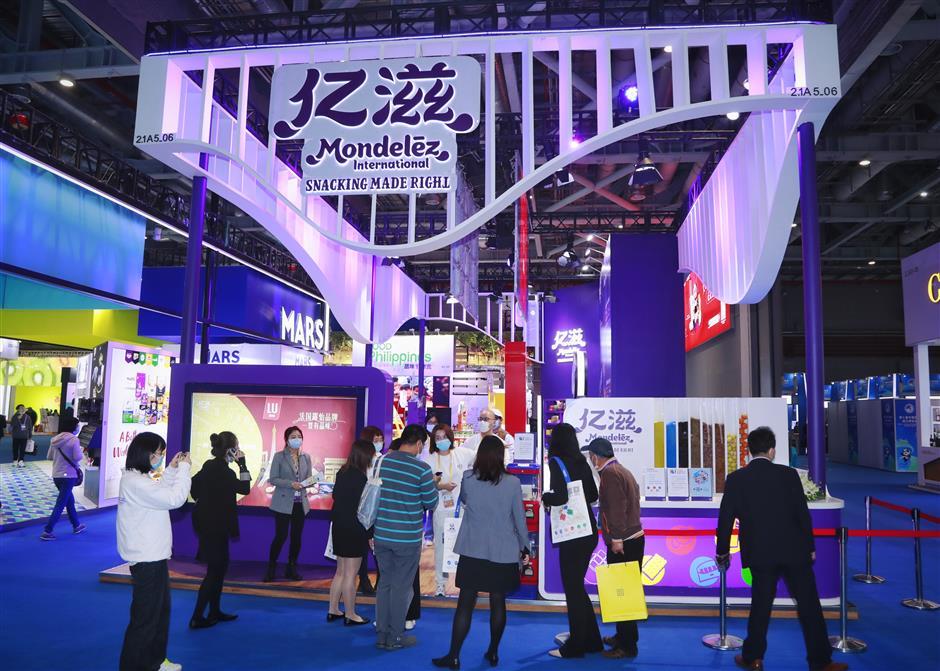 Mondelēzis stuck on success at import expo