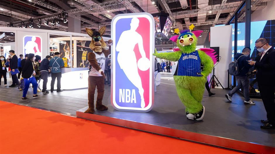 NBA unveils grand plans during CIIE debut