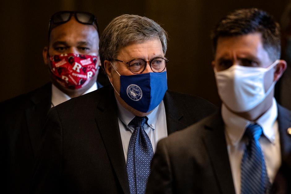 William Barr authorizes Justice Department voter fraud probe
