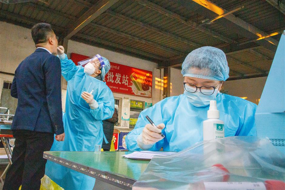 Chinas Tianjin completes COVID-19 testing in 2 medium-risk areas