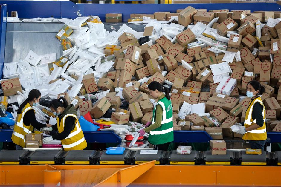 Lockdown-weary shoppers splash out record cash on Singles Day