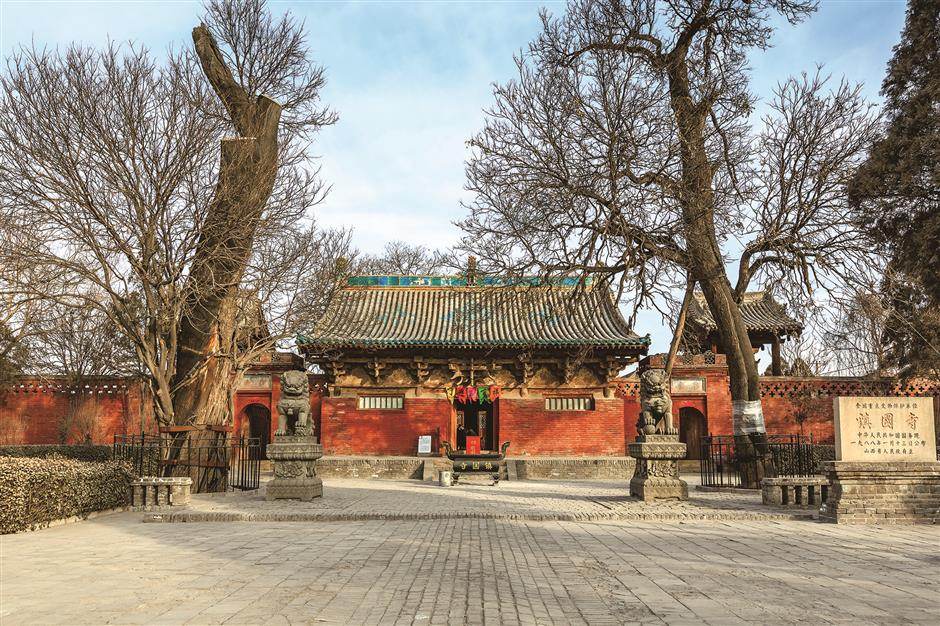 Three strands of Chinese faith fixed under ancient temple roof
