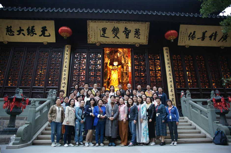 Buddhist temple shines its spiritual light on plight of the terminally ill