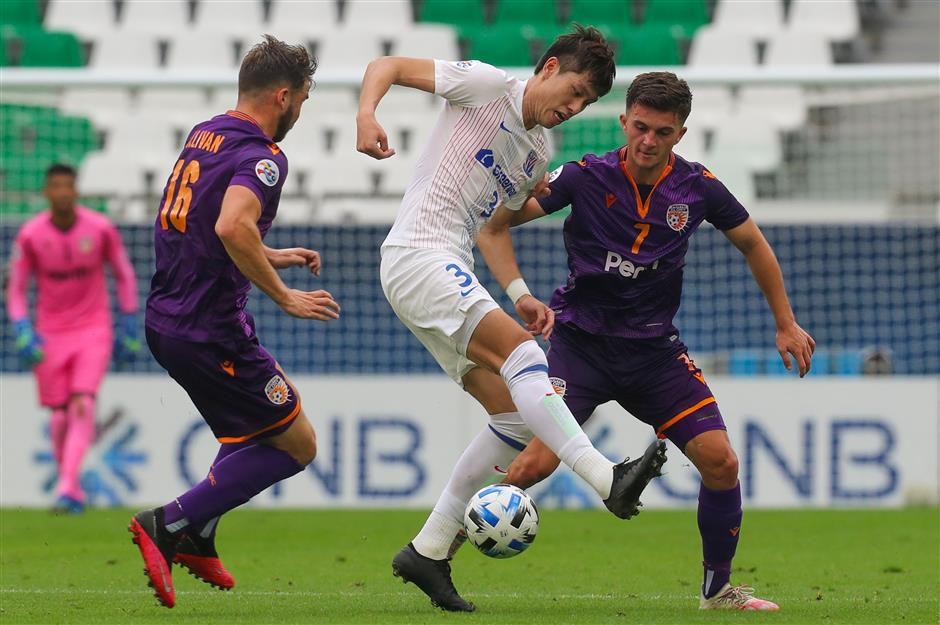 Shenhua makes winning start in AFC Champions League