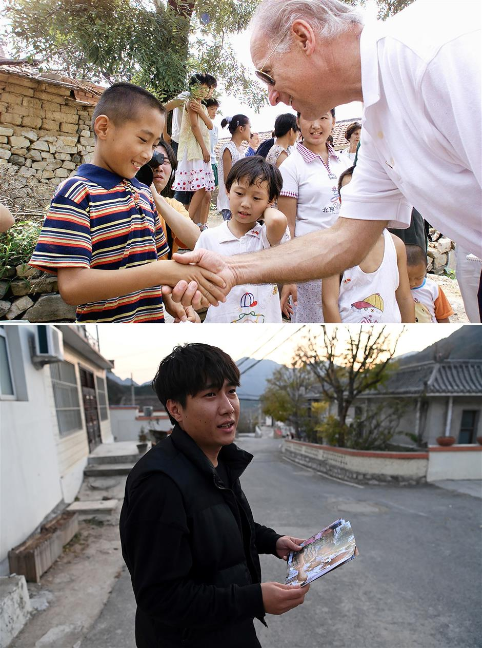 Gifts, popsicles and mass: Chinese villagers recall Bidens 2001 visit