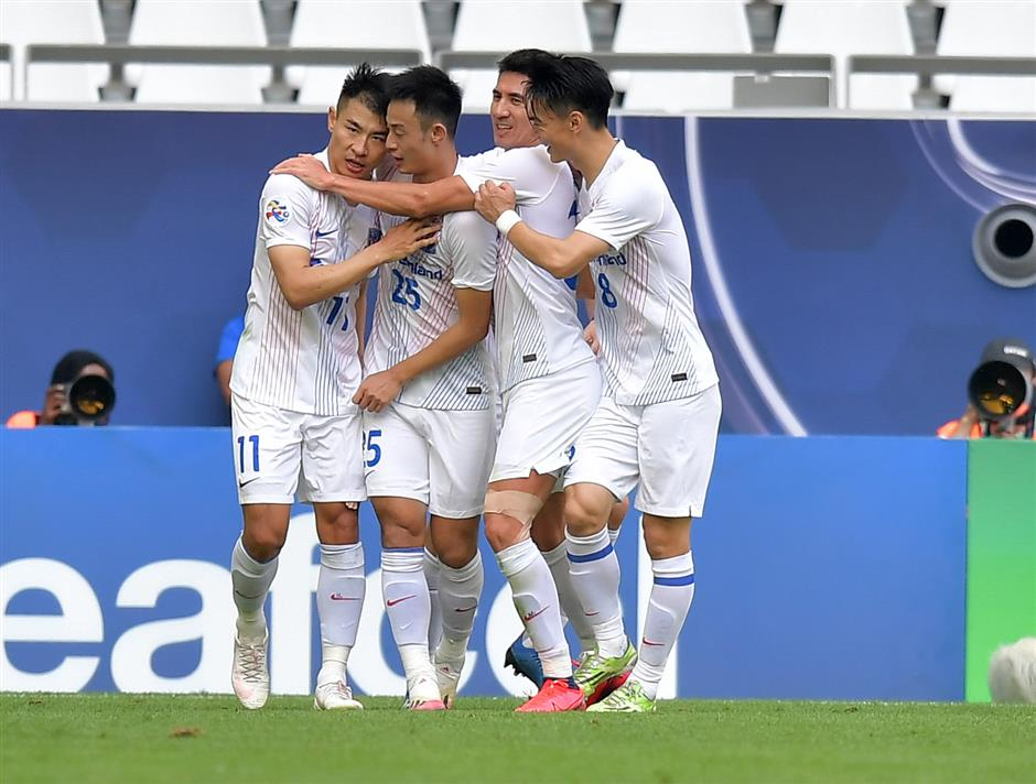 Shenhua makes winning start in AFC Champions League