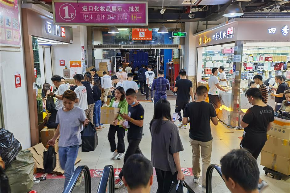 In Shenzhen, the worlds largest electronics market gets a cosmetics makeover