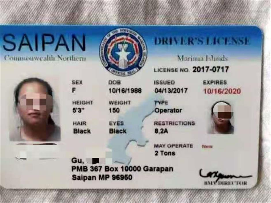 Driver with foreign driving license detained