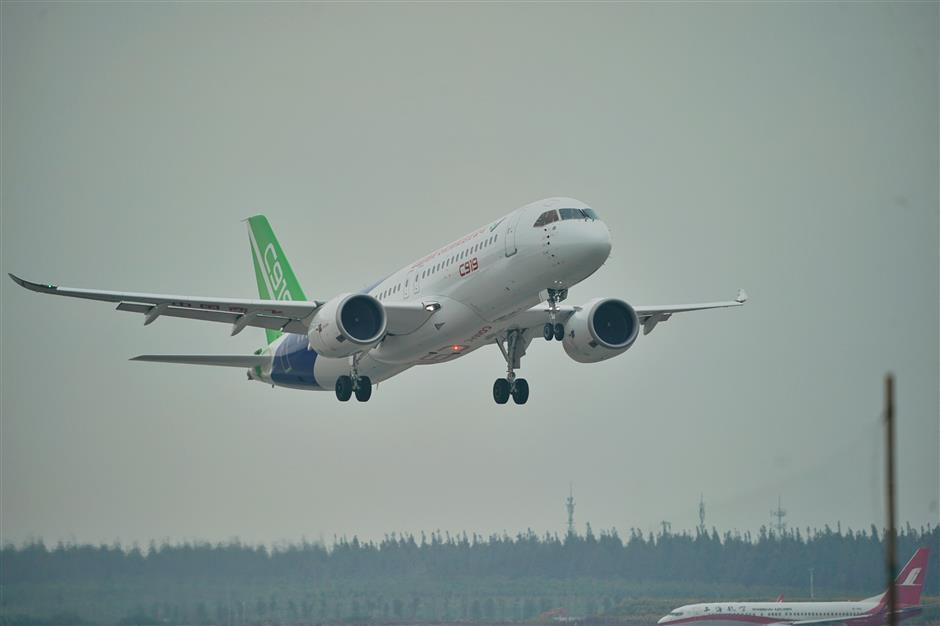 C919 manufactured with top-flight alloy material